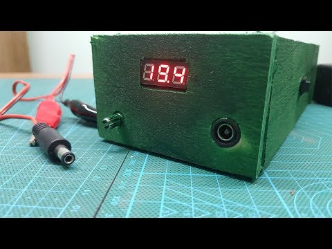 How to Make a Useful Thing from OLD Dell Laptop Charger || DIY Adjustable Voltage Power Supply