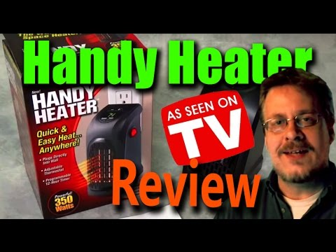 Handy Heater - Wall Outlet Space Heater Review - Does It Work?
