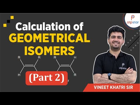 Calculation of Geometrical isomers (Part 2)-JEE|Medical|CBSE|Hindi