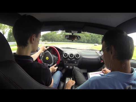 Stage de pilotage Ferrari F430 @ Circuit de Lohéac (35)