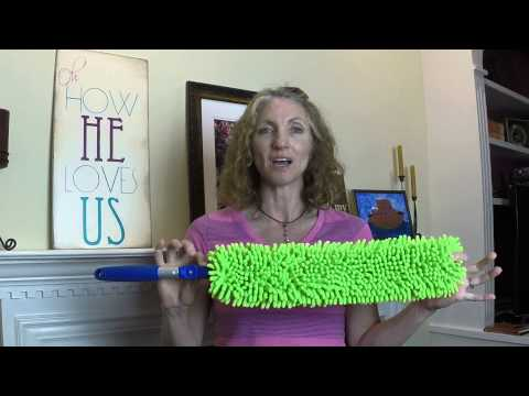 Removing Dust with Norwex