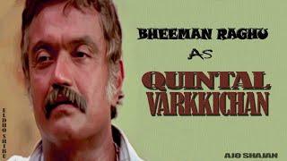 Bheeman Raghu as Quintal Varkichan | Rajamanikyam | Mammootty | Ajo Shajan