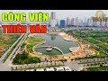 Ngắm công viên Thiên Văn đang hình thành ở khu đô thị Dương Nội, Hà Đông