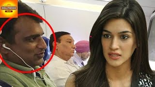Kriti Sanon FIGHT With Co - Passenger On Flight | Dilwale | Bollywood Asia