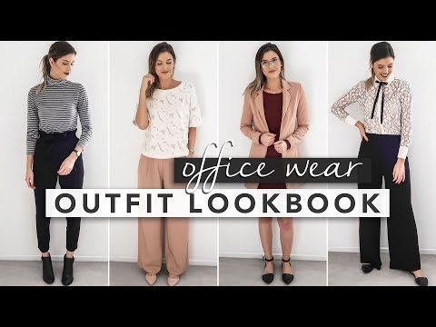 Office Wear Lookbook   4 Outfits for Work!