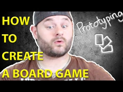 How to Create a Board Game - Creating Your First Prototype