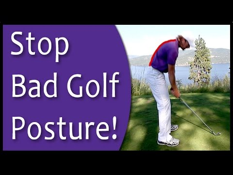 Golf for Beginners - Posture at Setup (From Golf's #1 Instruction System - RST)