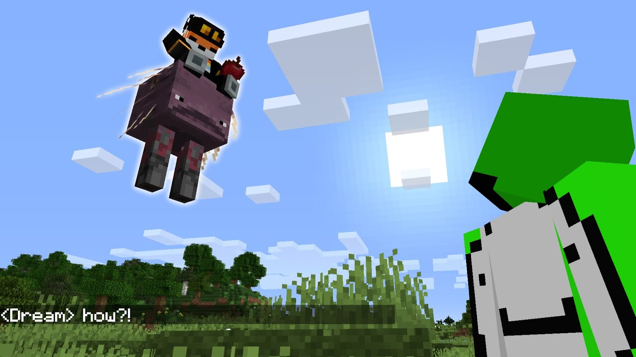 Hacking on the Dream SMP...