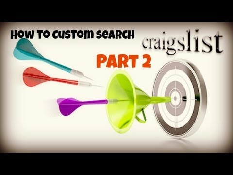 How to Custom Search Craigslist - Part 2: Notifications and Alerts