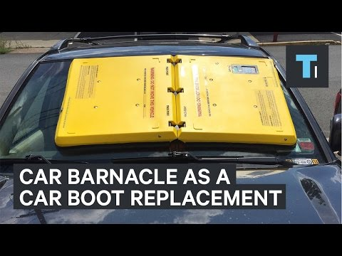 The car barnacle is a car boot replacement