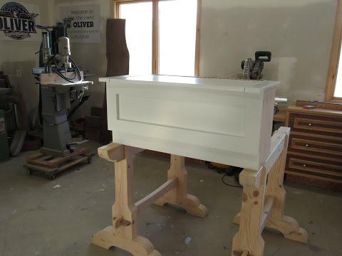 how to build a bench seat /como fazer um banco