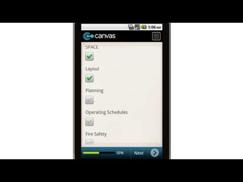 Canvas Warehouse Management Policy and Procedures Guidelines Outline Mobile App