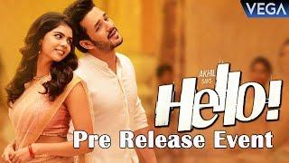 HELLO Movie Pre Release Event | Akhil, Kalyani Priyadarshan