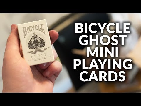 Deck Review - Bicycle Ghost Mini Playing Cards [HD]