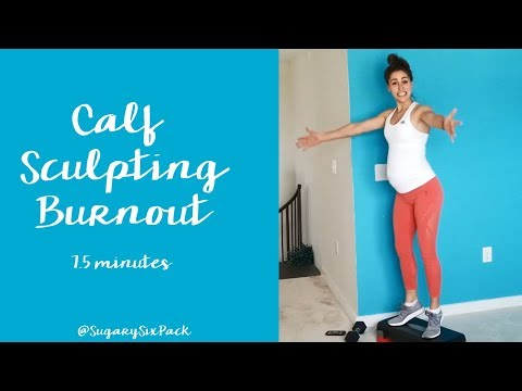 Sculpt Your Calves | Home Workout Calf Sculpting Exercises