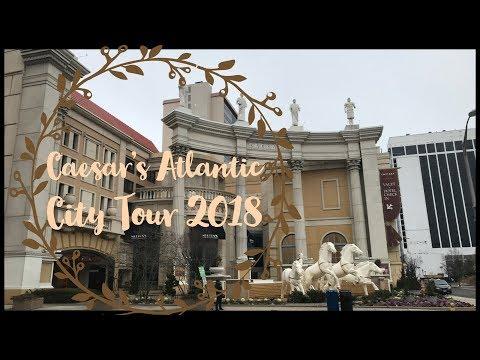 Caesar's Atlantic City Resort Tour 2018!
