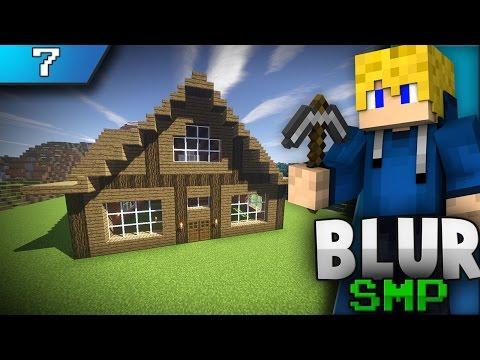 Minecraft Blur SMP Episode 7: Building My House!