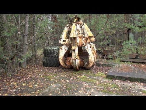 chernobyl 2012 II: the highly radioactive graphite crane claw (deja vu)