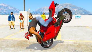 GTA 5 AMAZING Skills #8 (GTA 5 Epic, Stunts, Fails, Wins, Jumping, Thug life)
