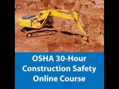 OSHA 30 hours Construction in ARABIC