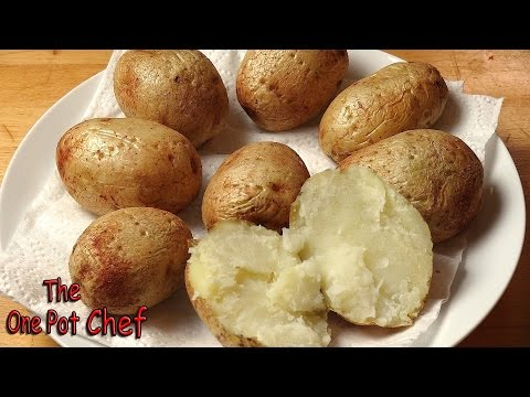 Quick Tips: Microwave Baked Potatoes | One Pot Chef