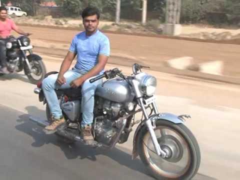 Bike stunts by Badan Tewatia
