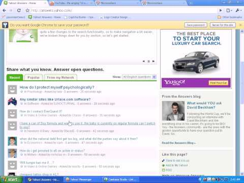 microworkers  concept of yahoo answer