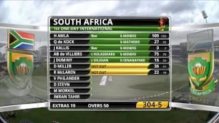 Sri Lanka v South Africa - 1st ODI: Highlights