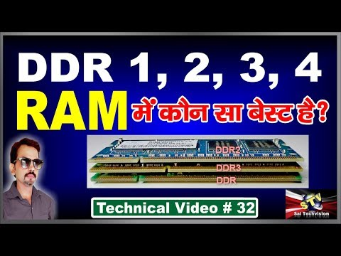 What is RAM DDR1 DDR2 DDR3 and What is the Difference (Best Explanations) # 32