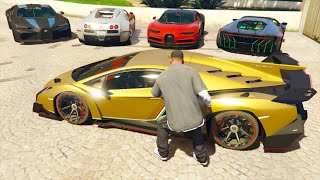 GTA 5 Stealing Super Cars with Franklin #7 (GTA 5 Expensive Cars)