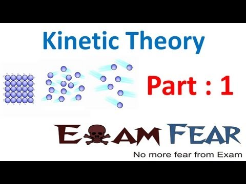Physics Kinetic Theory part 1 (Introduction) CBSE class 11