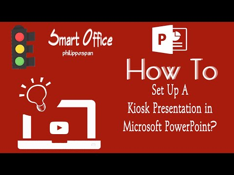 Set Up A Kiosk Presentation in PowerPoint 2016