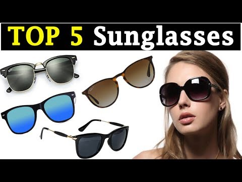 TOP 5 Best Sunglasses For Round Face Womans || Spectacles for Round Face Womans