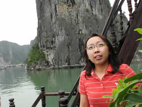 Interviewing Singapore Women While On Halong Bay