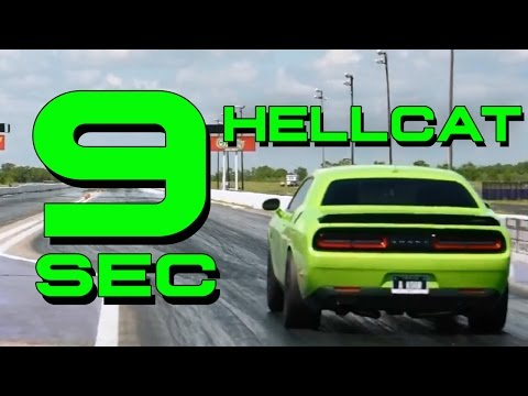 WORLD's FIRST 9 SECOND HELLCAT - FASTLANE