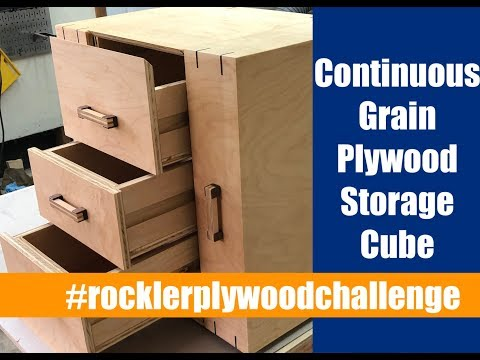 Continuous Grain Plywood Storage Cube | Rockler Plywood Challenge