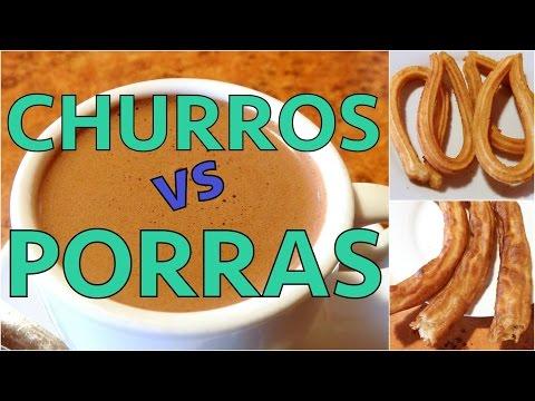 Churros vs Porras: Spanish Doughnut Taste Test in Madrid, Spain