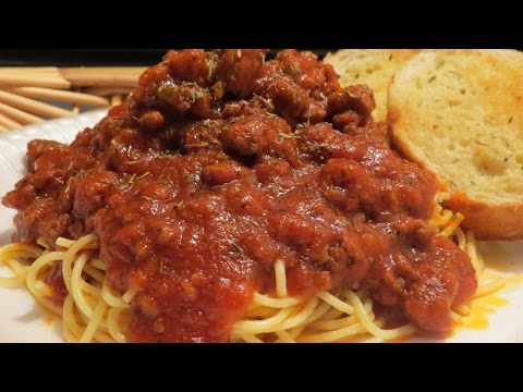 Easy  Thick  &  Hearty  Spaghetti  Sauce