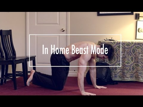 Get Jacked In Your Dorm Workout | Beast Bodyweight Exercises
