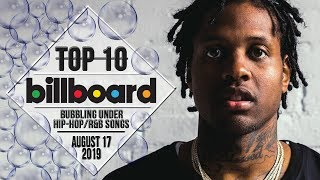 Top 10 • US Bubbling Under Hip-Hop/R&B Songs • August 17, 2019 | Billboard-Charts