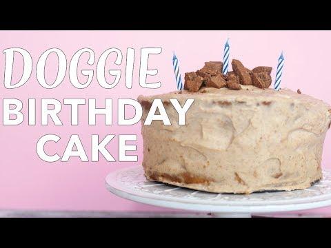 Dog Friendly Birthday Cake Recipe | Vegan Dog Birthday Cake | Homemade Dog Treats | The Edgy Veg