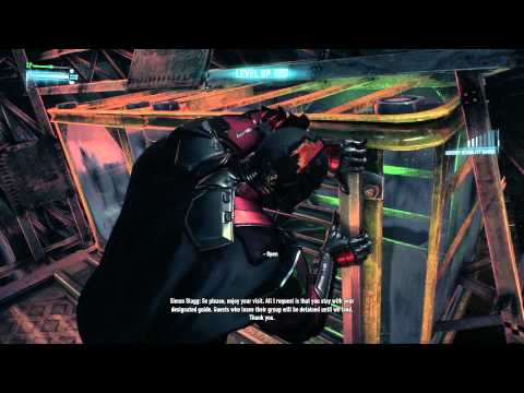 Arkham Knight Walkthrough Part 12 Stagg's First Airship