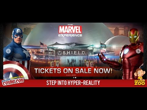 The Marvel Experience Interview with Hero Ventures at New York Comic Con 2014