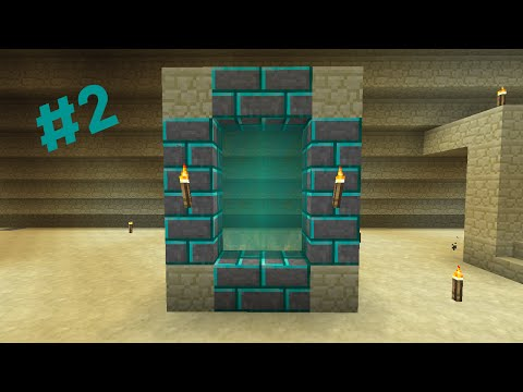 Modded Minecraft : Modsauce 2 : Episode 2 : Portal Blocks to the Mining Biome