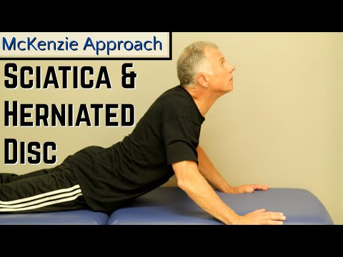 Absolute Best Exercise for Sciatica & Herniated Disc- McKenzie Approach.