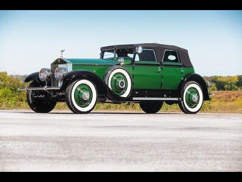 1930 Rolls Royce Phantom I Transformal Phaeton