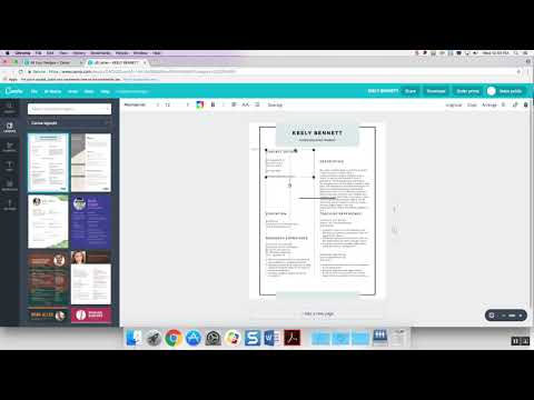 How to Make a Resume: Canva Tutorial
