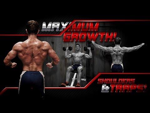 MAXIMUM GROWTH! Shoulders & Traps!