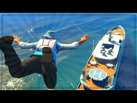 GTA 5 Online Heist Location Gameplay! - Custom GTA Online Yacht Mission - (GTA V Gameplay)