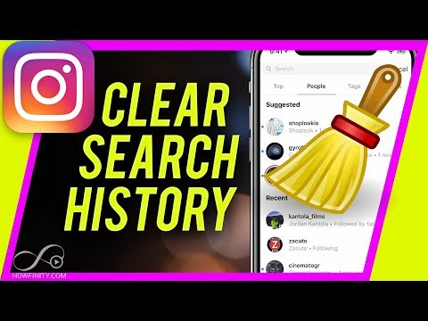 How To Clear Instagram SEARCH HISTORY in 2018